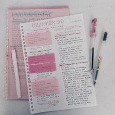 New post on getstudyblr School Organization Notes, Study Organization, Class Notes, School Notes, Bullet Journal Writing, Bullet Journal Ideas Pages, Studyblr, College Notes, Study Journal