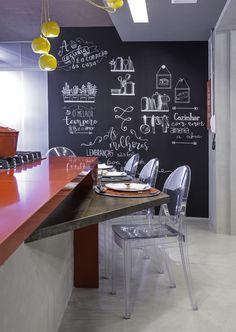 Chalkboard Wall Bedroom, Blackboards, Office Organization, House, Lettering, Home Decor, Kitchen Ideas, Neon, Magic