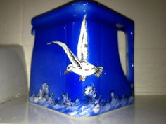 A very rare Seagull Cube Teapot made by T G Green for the Leicester based Company