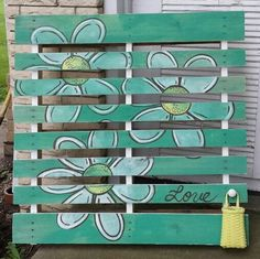 pallet art | Pallet Art | Craft Ideas