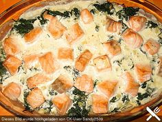Spinat - Kartoffel - Lachs - Auflauf (Rezept mit Bild)   Chefkoch.de