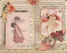 Vintage Gluebook Pg 7-8   Flickr - Photo Sharing!