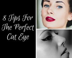 8 Tips For The Perfect Winged Liner, how to do winged eyeliner, how to do a cat eye, #makeuptips #beautytips #cateye #wingedlinertips #howtodowingedliner