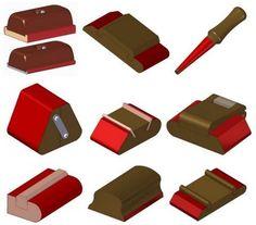 varios tipos de blocos de lixamento para varios formatos e utilidades:      http://www.craftsmanspace.com/Free%20projects/Sanding%20block%20...