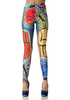 Hipster leggings. Flash back of the 80's.