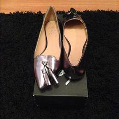 Banana Republic. Brand new! Silver leather flats. Brand new Banana Republic Shoes Flats & Loafers