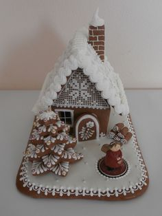 Gingerbread Village, Gingerbread Man, Best Cookies Ever, Christmas Treats, Villas, Advent, Projects To Try, Easter, Sweets
