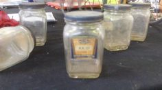 This jar looks unimpressive but it books for over $175.00 and she has several