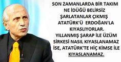 Ünlü İlahiyatçı Prof. Dr. Yaşar Nuri Öztürk Atatürk ile Erdoğan Kıyaslamalarına Göndermede Bulundu.