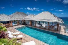 Aménagement et décoration d'une villa à Saint-Barthélemy, Antilles, ATHEA DESIGN - architecte d'intérieur