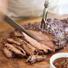 Texas-Style BBQ Brisket |  Adapted from Williams-Sonoma On the Grill, by Willie Cooper (Oxmoor House, 2009).  From: williams-sonoma.com