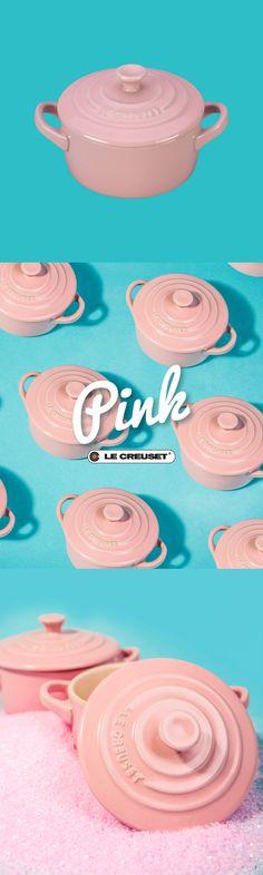 Pink, vintage is back!  Agrega dulzura y romance a tus platillos con la hermosa Colección Pink Le Creuset.  Encuéntrala en @casapalacio.