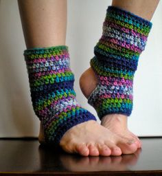 PATTERN: Short Warmers, Easy Crochet PDF, Leg Warmers, yoga socks, teen adult, ankle, striped, InStAnT DoWnLoAd, Permission to Sell