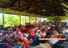 Eks Gafatar Dipenampungan Bekangdam XII Tanjungpura. / foto : Devi Lahendra
