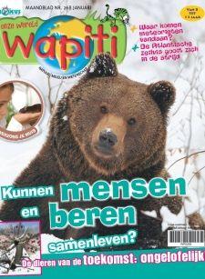 Wapiti gaat over onze wereld! In het tijdschrift is er veel aandacht voor de meest uiteenlopende dieren en natuurlijk ook voor natuur, milieu en wetenschap. Sterrenkijken, het ecosysteem; het komt allemaal op een speelse manier in dit magazine aan bod. Maar er is meer. Als abonnee krijg je niet alleen maandelijks Wapiti in de bus; je wordt ook lid van de Wapiti-Club. Met je clubpas krijg je korting bij diverse musea, dierentuinen en natuurcentra!