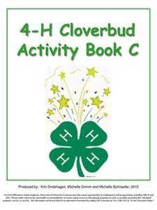 cloverbud activities