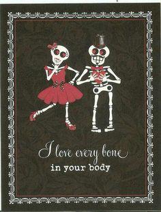 DIA DE LOS MUERTOS/DAY OF THE DEAD~Every bone