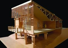 Amazing 3d wooden and plastic architectural models collection