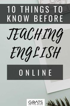 If you want to become a great online English teacher, the first thing you'll need to do is find a reliable online platform or learning management as well as the things to know after you get hired. Here are the 10 things to know before teaching English online. | #digitalnomad #traveljob #onlineteacher Ways To Earn Money, Earn Money Online, Way To Make Money, Online Teaching Jobs, Online Jobs, Teach English To Kids, Online English Teacher, Travel Jobs, Teaching Skills