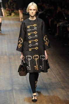 Dolce & Gabbana Winter 2015 Collection #MFW #AW14  #FashionWeek