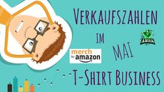 Meine Einnahmen vom MAI 2020 in POD Print on Demand I Amazon MBA, Spread... T Shirt Designs, Print On Demand, Amazon Merch, Little Bit, Mai, Business, Advertising Ads, Store, Business Illustration