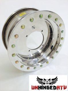Roll-Tech-14x6-Single-Beadlock-UTV-wheel-Black-4-156-4-2-offset-Polaris-RZR