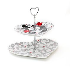 Mickey and Minnie Mouse Valentine Cake Stand