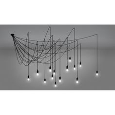 Spider Multi-Flex Dimmable Pendant,Bare Wire Multi-Flex Spider Chandelier with 14 Dimmable LED Lamps The very best chandelier is the one with adjustable height When you have a tiny kitc. Wire Chandelier, Modern Chandelier, Pendant Lamp, Spider Lamp, Spider Light, Ceiling Rose, Ceiling Lights, Luminaire Original, Multi Light Pendant