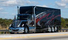Semi truck and trailer painting Rv Truck, Dually Trucks, Big Rig Trucks, Semi Trucks, Old Trucks, Kenworth Trucks, Pickup Trucks, Bus Camper, Campers