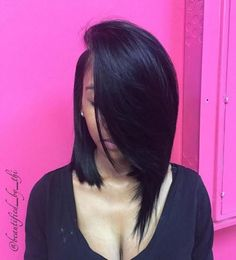 Asymmetrical Sew In Lob