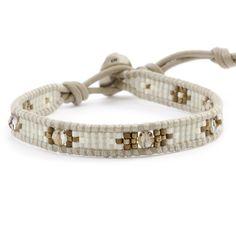 Chan Luu - Bronze Shade Beaded Single Wrap Bracelet on Beach Leather, $65.00 (http://www.chanluu.com/bracelets/bronze-shade-beaded-single-wrap-bracelet-on-beach-leather/)