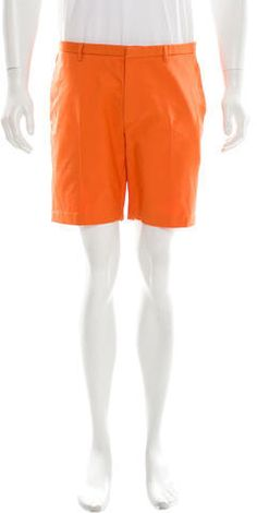 Calvin Klein Collection Flat Front Shorts