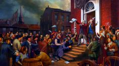 Boston Tea Party and the revolt against British Stamp Act