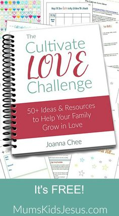 50+ ideas, planners and printables to strengthen your marriage, deepen relationship with your kids, and help your children grow in friendship. Click the pin to get it FREE! via @ Joanna Mums.Kids.Jesus