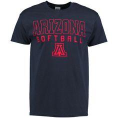 Arizona Wildcats New Agenda Frame Softball T-Shirt - Navy - $13.99