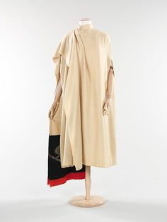 Evening cape (image 1) | House of Poiret | French | 1920 | wool, metal, silk | Brooklyn Museum Costume Collection at The Metropolitan Museum of Art | Accession Number: 2009.300.316