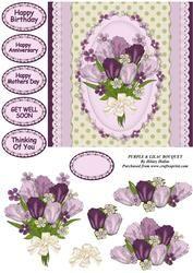 Purple & Lilac Bouquet