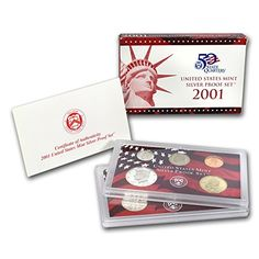 2001 S Silver Proof Set Brilliant Uncirculated -- Check out this great product.