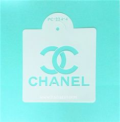 Customers love all of our designer brand decorating stencils best used with royal icing, fondant, buttercream, chocolate, dusting sugar or any spreadable Stencil Logo, Cake Stencil, Stencil Diy, Stencils, Bolo Chanel, Chanel Cake, Chanel Party, Cake Decorating Designs, Cake Decorating Supplies