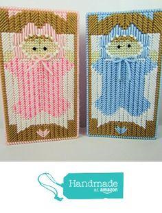 Baby Girl Pink Storage Box or Baby Boy Blue Storage Box from Gifts Ala Carte https://www.amazon.com/dp/B01KOL6I82/ref=hnd_sw_r_pi_dp_yZpUxbAJAMAGX #handmadeatamazon