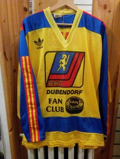 ADIDAS Old School Vintge Hockey Jersey size L by DoctorJulius