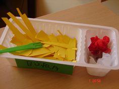 bakje met friet en saus Food Themes, Cube, Workshop, Restaurant, Kids, Young Children, Atelier, Children, Restaurants
