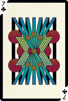 Creative cards -- seven of clubs art/design игральные карты Tarot, Cool Playing Cards, Collaborative Art Projects, Deck Of Cards, Card Deck, Oracle Cards, Creative Cards, Art Lessons, Card Games