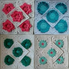 78th.stitch I have got a bit behind with my photos lately so here are some groups of photos First up: The Meadow. Pictured are clues 4 to 7 - Sunflower Daisy Cornflower and Rose squares #dropsfan #dropscal #crochetalong #cal #TheMeadowCAL #TheMeadow #crochet #haken #crochetsavedmylife #crochetconcupiscence #crochetersofig #crochetersofinstagram #instacrochet #ilovecrochet #crochetobsession #stringobsession #obsessedwithstring #string #obsessedwithcrochet #CrochetAddict #StringAddict…