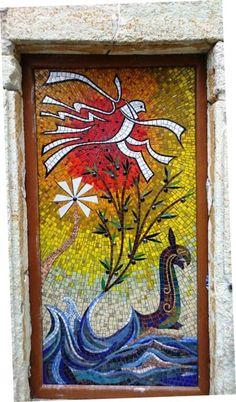 Cam Mozaik Çalışması (Kimden: Mozaik Sanat Evi)