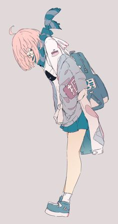 Uploaded by Find images and videos about anime, anime girl and daisukerichard on We Heart It - the app to get lost in what you love. Art And Illustration, Character Illustration, Anime Art Girl, Manga Art, Anime Girls, Aesthetic Anime, Aesthetic Art, Anime Style, Pretty Art