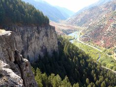 Logan Canyon, UT I use to race up this canyon in my firebird headed to Bear Lake. Good times...