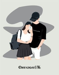 A collection of fan art images for wattpad covers - Recommended fan art pictures to cover for you … # Random # amreading # books # wattpad - Cute Couple Drawings, Cute Couple Art, Anime Love Couple, Couple Cartoon, Cute Couples, Cover Wattpad, Wattpad Cover Template, Cute Cartoon Wallpapers, Animes Wallpapers