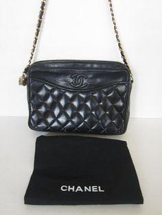 3e6d9e188fa4 Chanel Quilted Camera Vintage Lambskin Tassel Ball Crossbody Shoulder Bag Chanel  Shoulder Bag