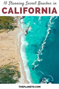 California's Pacific Coast is full of stunning beaches. These are 10 of the best beaches in California that you have probably never heard of. Destin Beach, Ocean Beach, Beach Trip, California Beach, California Travel, San Fransisco, United States Travel, Summer Travel, Beach Travel
